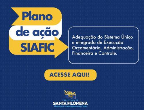 Adequação ao Sistema Único e Integrado de Execução Orçamentária, Administração Financeira e Controle – SIAFIC