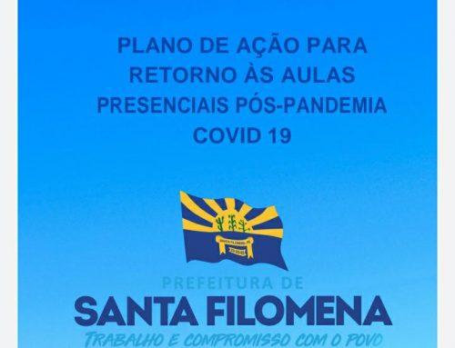 PLANO DE AÇÃO PARA RETORNO ÀS AULAS PRESENCIAIS